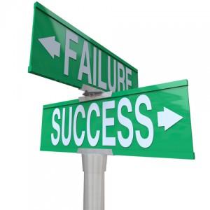 Success / Failure Road Signs